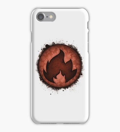 The Fire Types iPhone Case/Skin