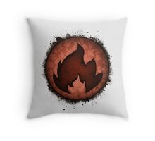 The Fire Types Throw Pillow