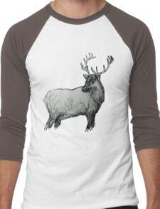 The Elk  Men's Baseball ¾ T-Shirt