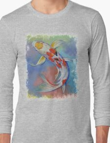Butterfly Koi Fish Long Sleeve T-Shirt