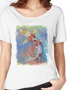 Butterfly Koi Fish Women's Relaxed Fit T-Shirt