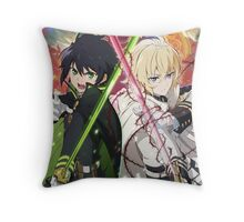 Anime: Owari no Seraph Throw Pillow