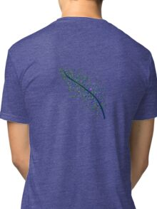 Peacock Feather Tri-blend T-Shirt