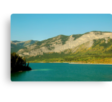 Barrier Lake Canvas Print
