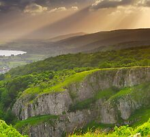 Cheddar Gorge Panorama by Craig Joiner