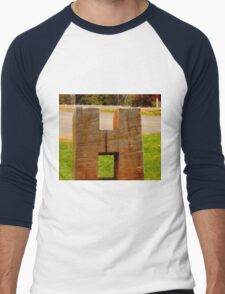 The Letter H Men's Baseball ¾ T-Shirt