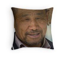Old Man China  Throw Pillow