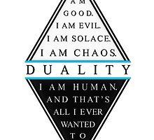Duality by heyrebekah