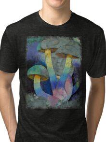 Magic Mushrooms Tri-blend T-Shirt