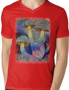 Magic Mushrooms Mens V-Neck T-Shirt