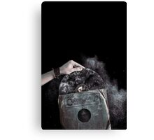 Recorded Dust Canvas Print