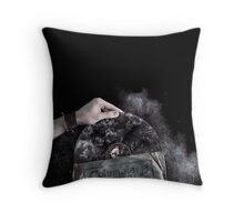 Recorded Dust Throw Pillow