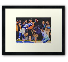 The Catch 2014 OBJ13 Framed Print