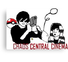 Chaos Central Cinema Reference Design Canvas Print
