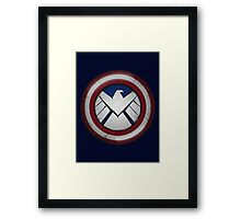 The Captain's S.H.I.E.L.D. Framed Print