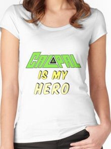Calpal Is My Hero Women's Fitted Scoop T-Shirt
