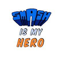 Smash Is My Hero Photographic Print