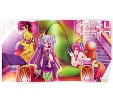 Anime: NO GAME NO LIFE Poster