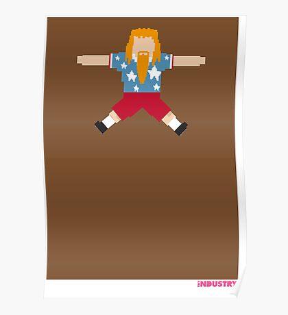Foot-T 'ginger beard' Poster