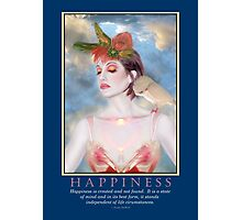 Happiness 1 Photographic Print