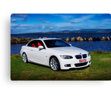 2009 BMW 325i Canvas Print