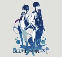 Anime: AO NO EXORCIST - Rin & Yukio by shuuheii