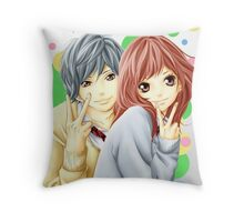 Anime: AO HARU RIDE Throw Pillow