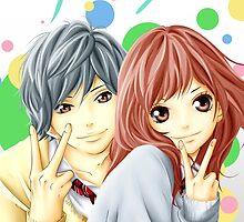 Anime: AO HARU RIDE by shuuheii