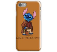 I Aim To Misbehave iPhone Case/Skin