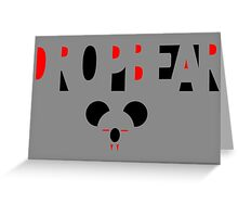 Dropbear - Australia's Deadliest Predator Greeting Card