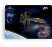 Downjump near the Antennae Galaxies. Canvas Print