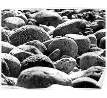 Stones - Bermagui NSW Poster