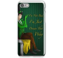 I'm not bad I'm just drawn that way iPhone Case/Skin