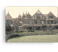 Winchester House Canvas Print