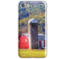 Red Barn And Silo iPhone Case/Skin