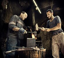 The Metal Smith #0101 by Michiel de Lange