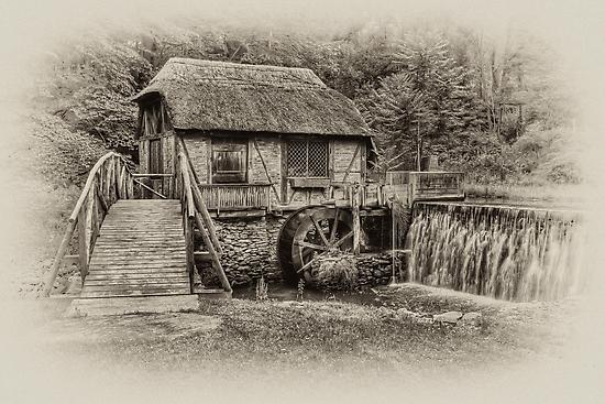Gomez Mill / Antique  by JHRphotoART