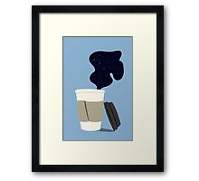 Cosmic Latte Framed Print