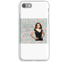 Tina Fey on Beauty iPhone Case/Skin