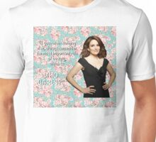 Tina Fey on Beauty Unisex T-Shirt