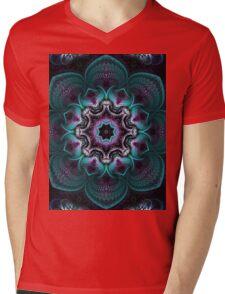 Psychedelic Mandala Mens V-Neck T-Shirt