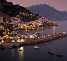 Amalfi Dusk by Charlie  Lin