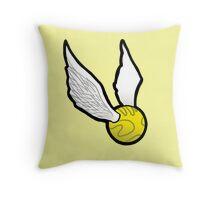 Golden Snitch Throw Pillow