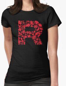 Rocketmon (Lunarscape) Womens Fitted T-Shirt