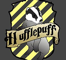 Hufflepuff Crest by AriesNamarie