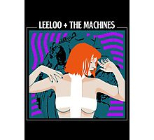 Leeloo and the Machines Photographic Print