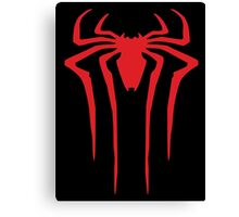 Spider-Man sign Canvas Print