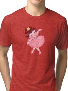 Pretty Pink Ballerina Tri-blend T-Shirt