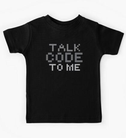 Talk code to me Kids Tee