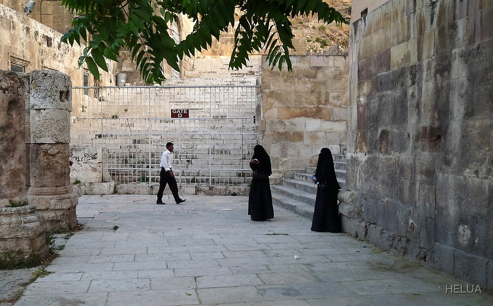 Visitors to the Capital City of Jordan by HELUA